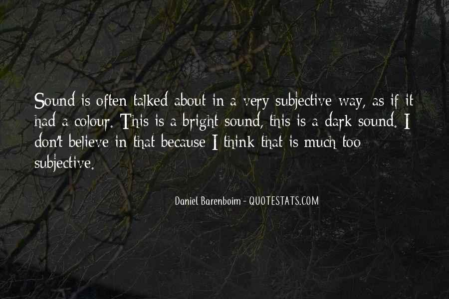 Don't Think Too Much Quotes #397195
