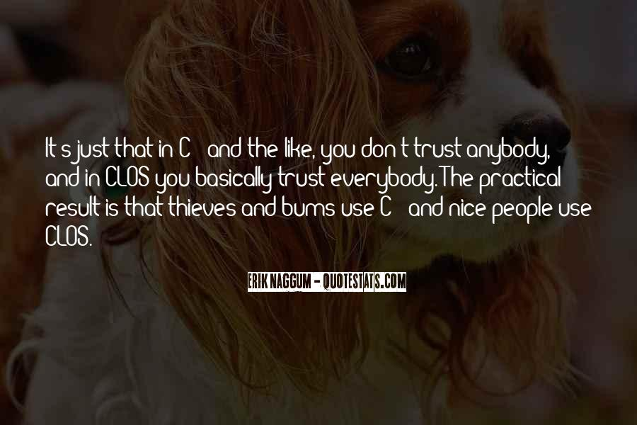 Don't Trust Anybody Quotes #1241674