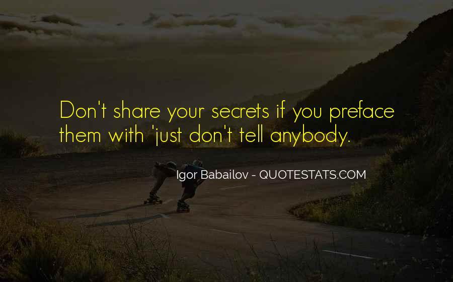 Don't Trust Anybody Quotes #14211