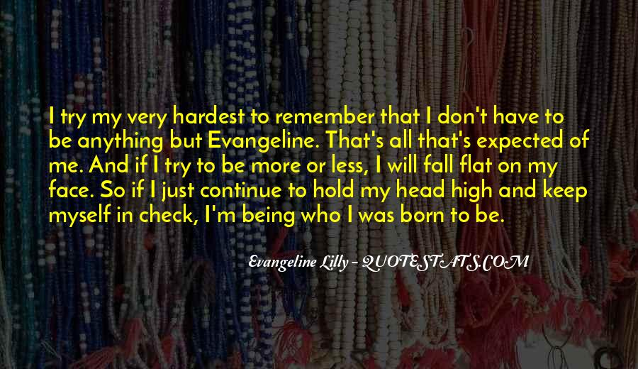 Don't Try To Keep Up With Me Quotes #101166