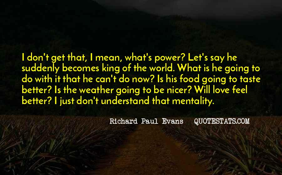 Don't Understand The World Quotes #1174203