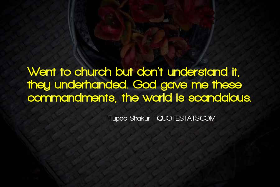 Don't Understand The World Quotes #1220607