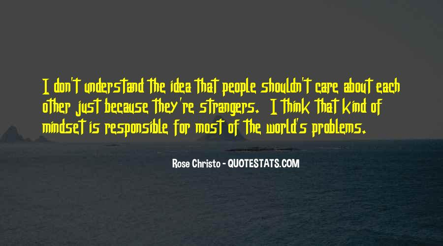 Don't Understand The World Quotes #122751