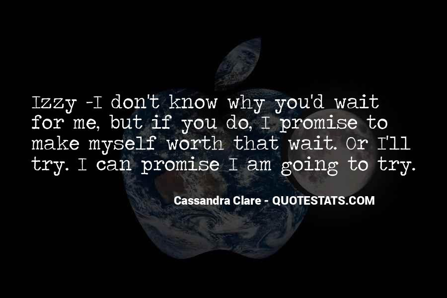 Don't Wait For Me Quotes #513304