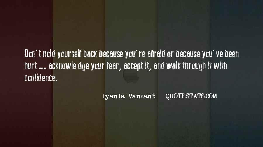 Don't Want To Hold You Back Quotes #157091