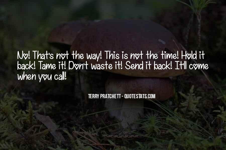 Don't Want To Hold You Back Quotes #251335