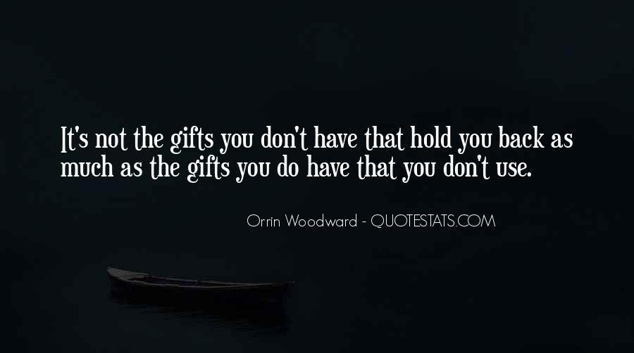 Don't Want To Hold You Back Quotes #326961