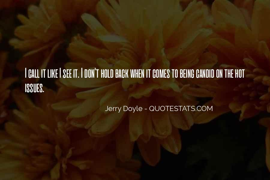 Don't Want To Hold You Back Quotes #51269
