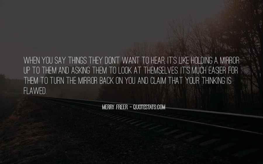 Don't Want You Back Quotes #163098