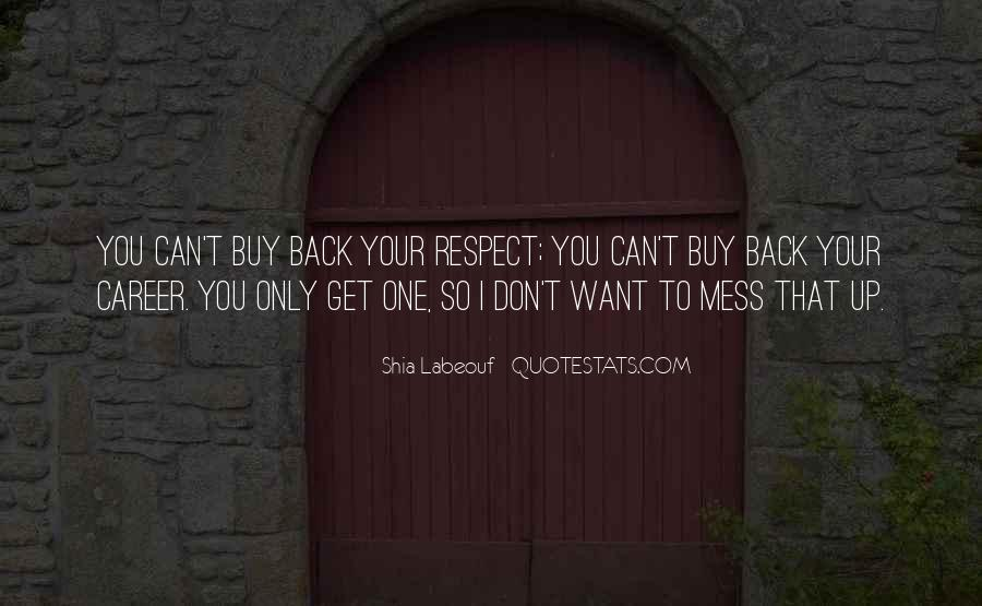 Don't Want You Back Quotes #199070