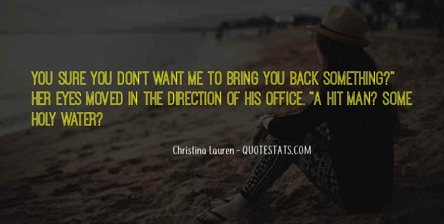 Don't Want You Back Quotes #274367