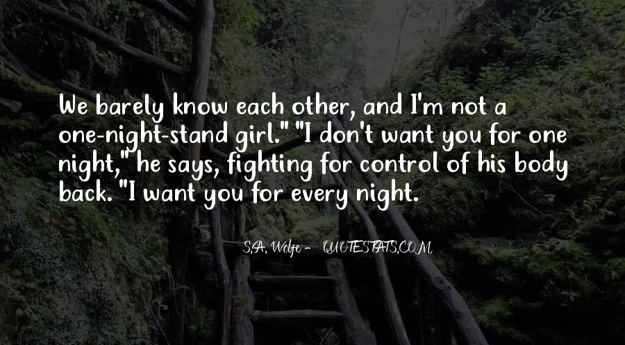 Don't Want You Back Quotes #395678