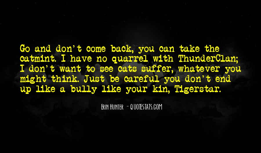 Don't Want You Back Quotes #53823