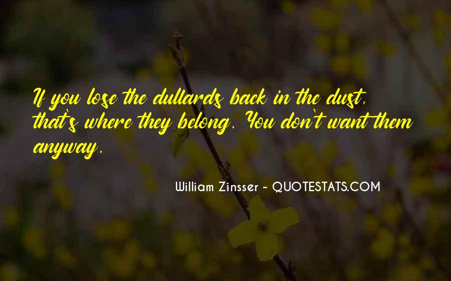 Don't Want You Back Quotes #86529