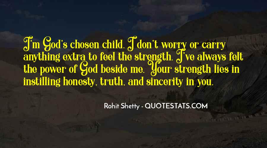Don't Worry God Is There Quotes #865223