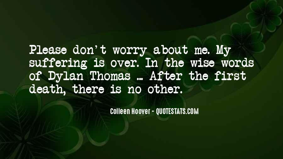 Don't Worry My Love Quotes #785769