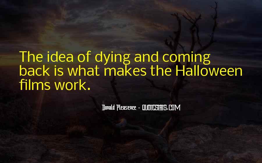 Donald Pleasence Halloween Quotes #1238906