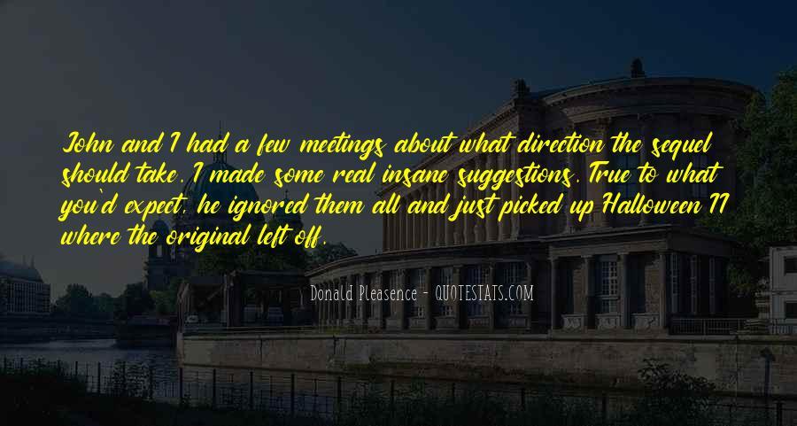 Donald Pleasence Halloween Quotes #1252642