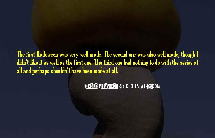 Donald Pleasence Halloween Quotes #1483238
