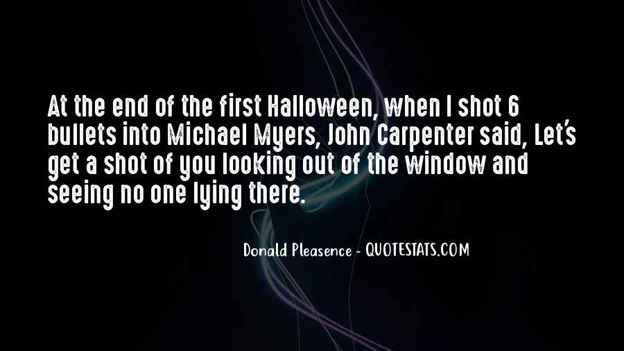 Donald Pleasence Halloween Quotes #1556967