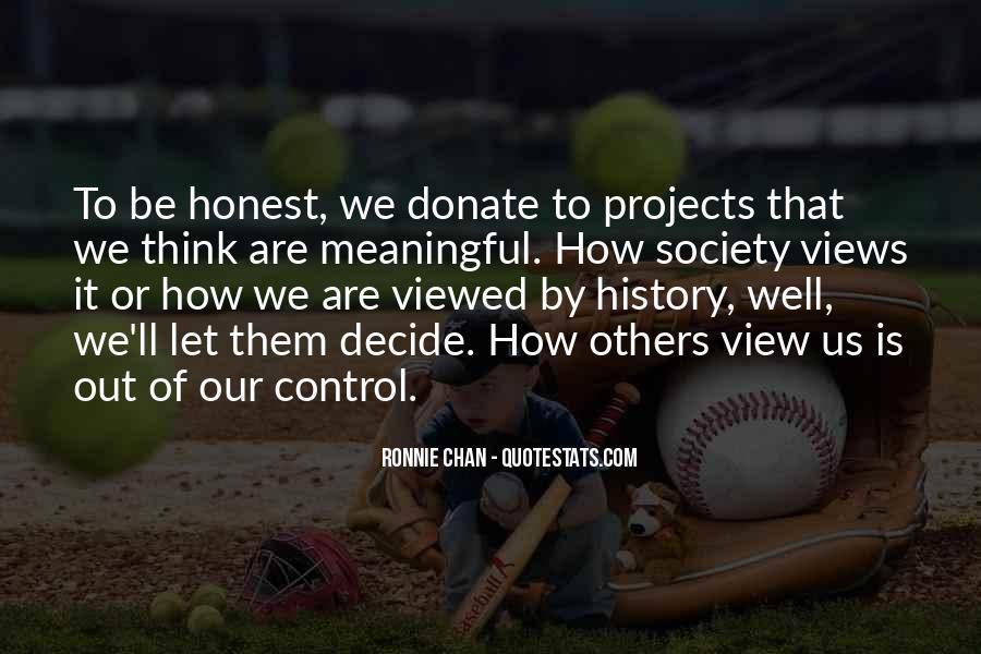 Donate Us Quotes #197482