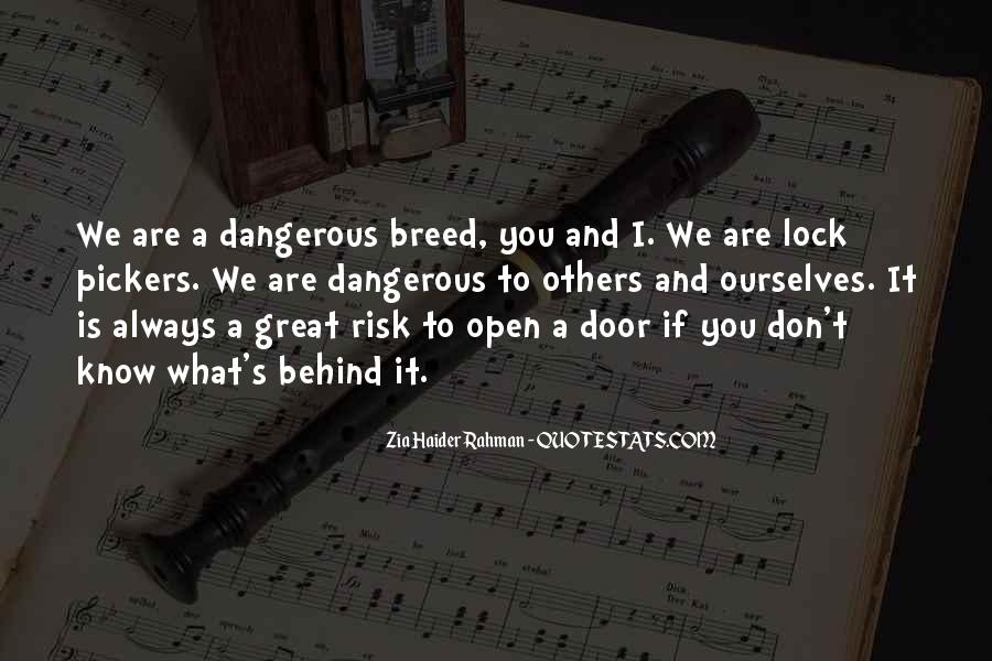 Door Is Always Open Quotes #1640015