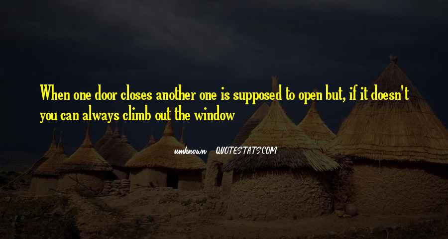 Door Is Always Open Quotes #28288