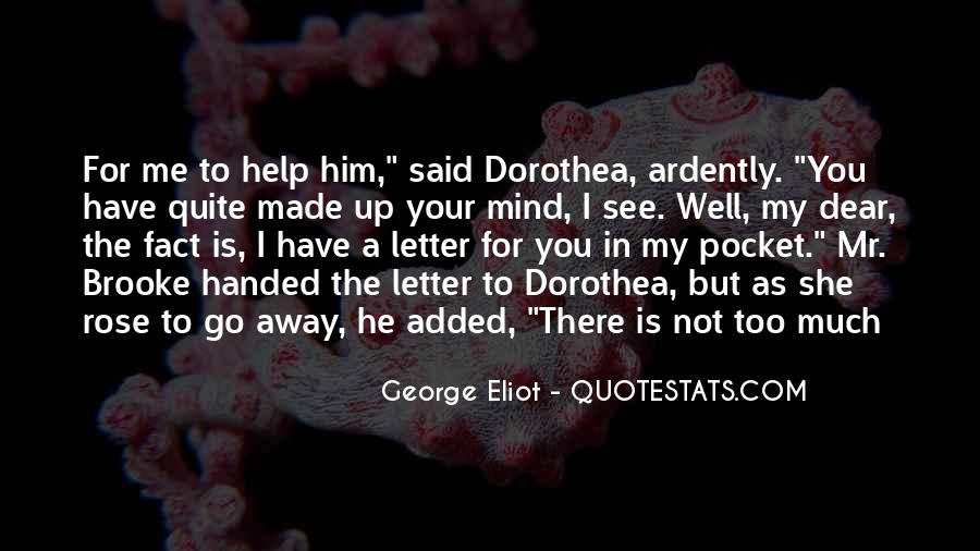 Dorothea Brooke Quotes #571329
