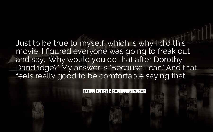 Dorothy Dandridge Best Quotes #552630