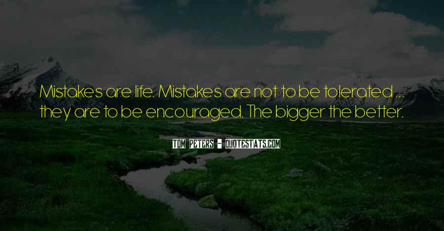 Quotes About The Mistakes #10110