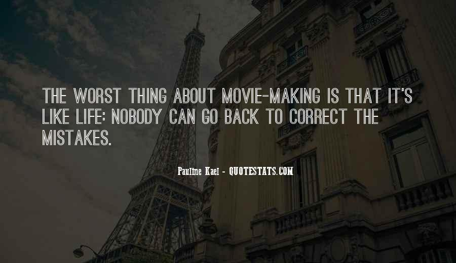 Quotes About The Mistakes #10667