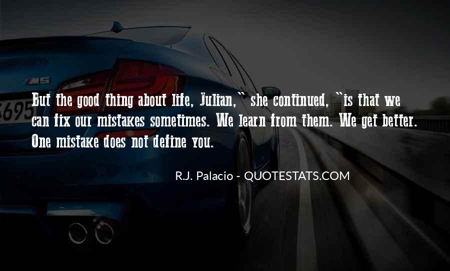 Quotes About The Mistakes #20635