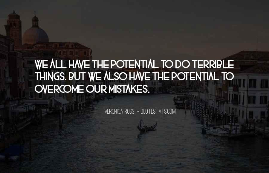 Quotes About The Mistakes #32937