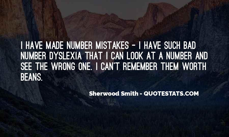 Quotes About The Mistakes #35447