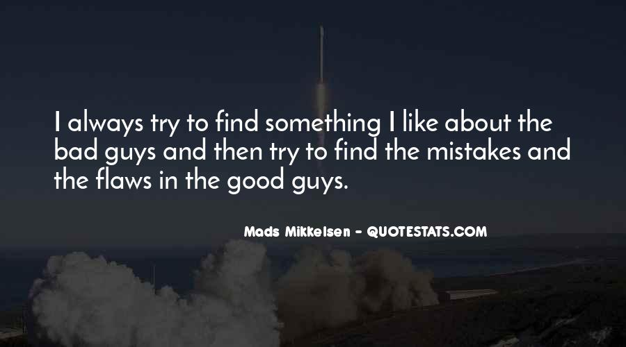 Quotes About The Mistakes #37079