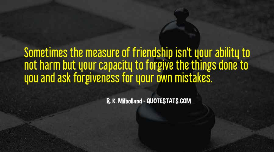 Quotes About The Mistakes #38114