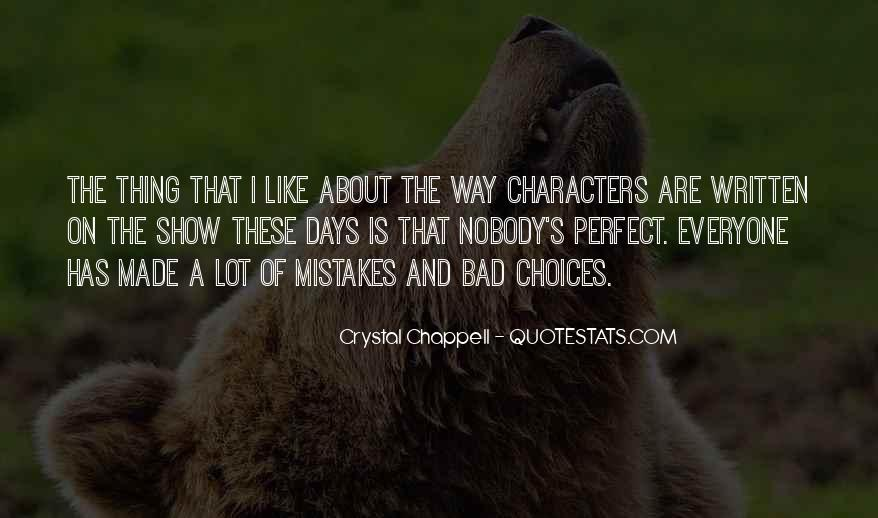 Quotes About The Mistakes #40801