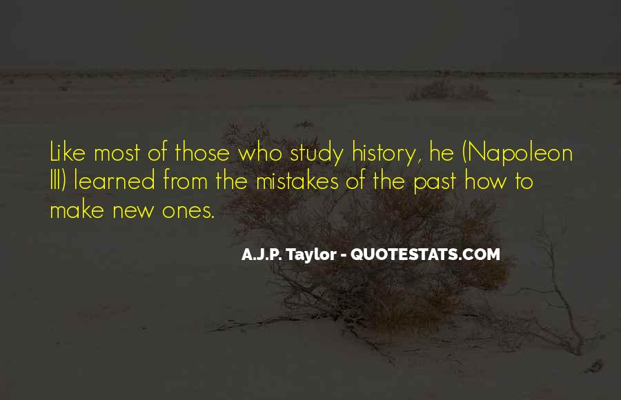 Quotes About The Mistakes #52412