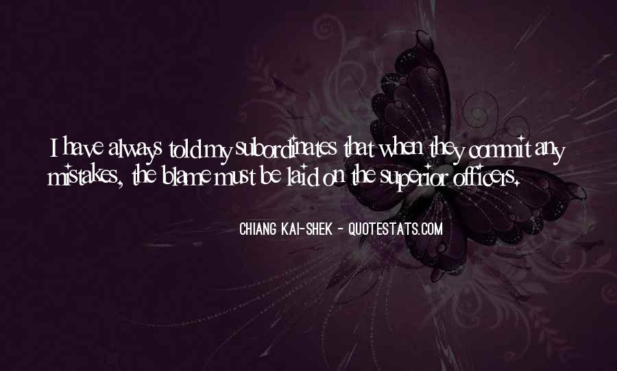 Quotes About The Mistakes #55277