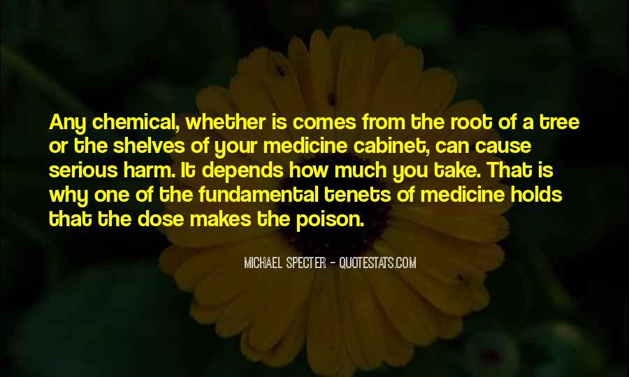 Dose Of Medicine Quotes #1457518