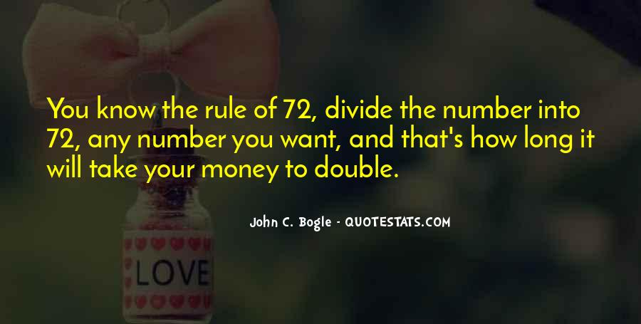Double Your Money Quotes #1355261