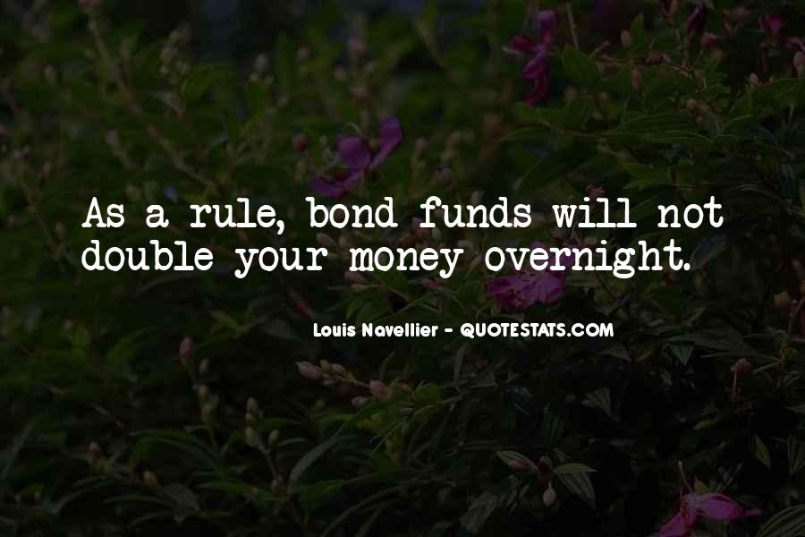 Double Your Money Quotes #44170