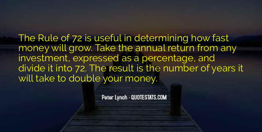 Double Your Money Quotes #710057