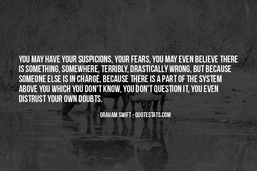 Doubt In Trust Quotes #1665858