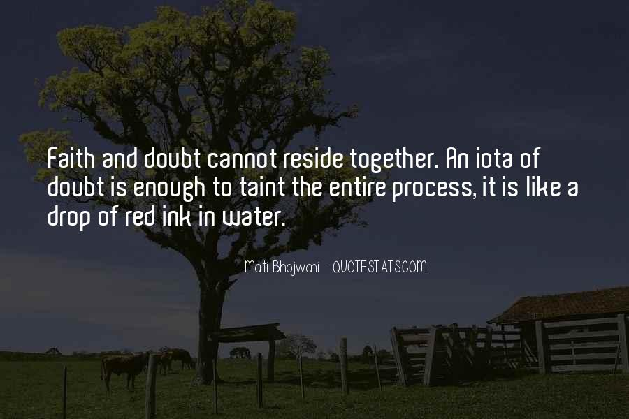 Doubt In Trust Quotes #1687758