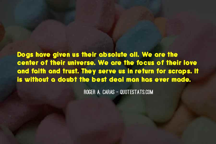 Doubt In Trust Quotes #1803509