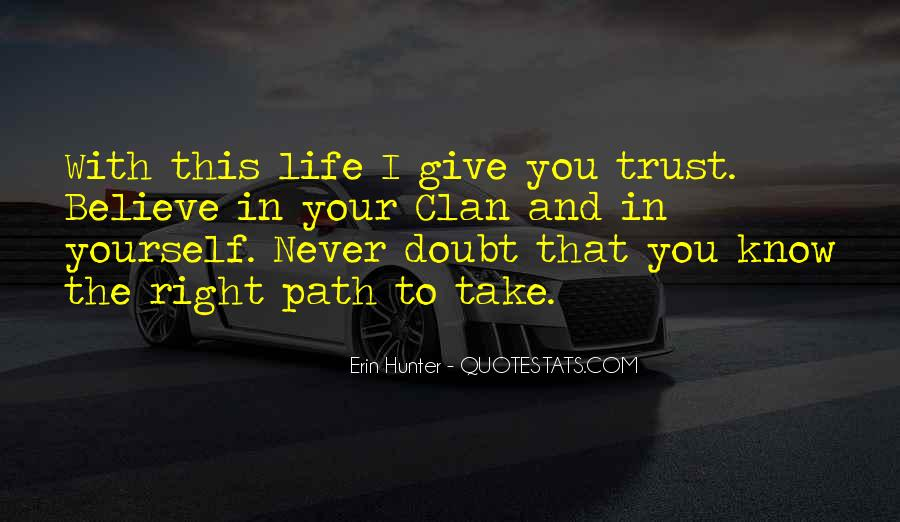 Doubt In Trust Quotes #414457