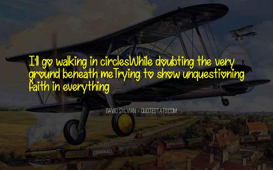 Doubting Us Quotes #172802