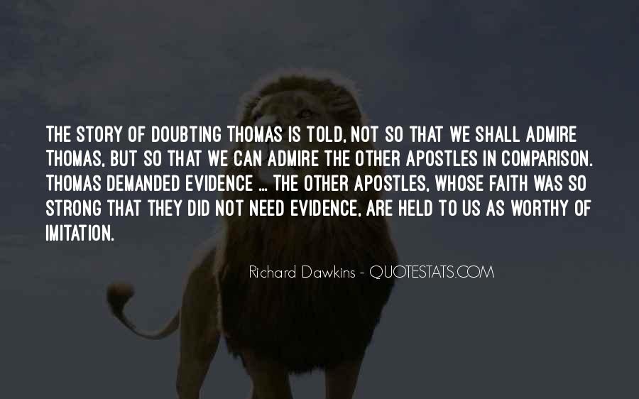 Doubting Us Quotes #176677