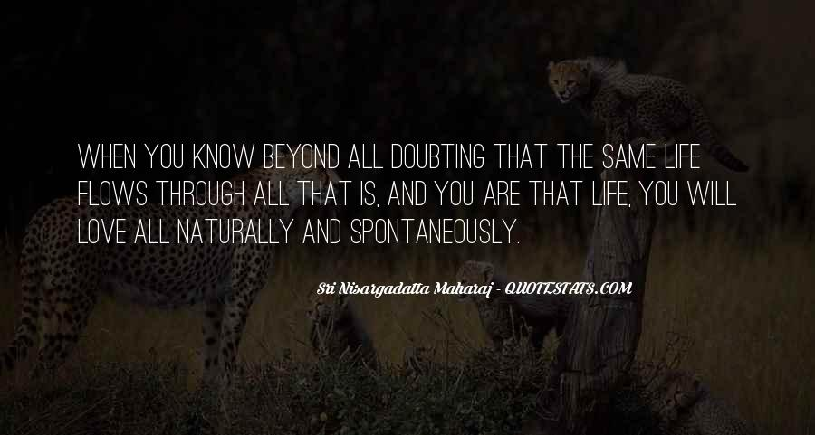 Doubting Us Quotes #193689